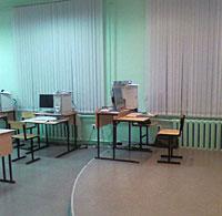 Новый кабинет ИКТ, место учителя